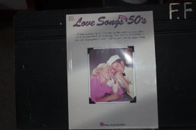 Love Songs Of The 50s Piano Vocal And Guitar Near Mint
