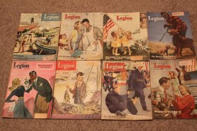 The American Legion 1947 These Magazines Are Near Mint