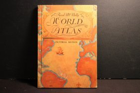 Rand Mcnally World Atlas Pictorial Edition - Hard Cover