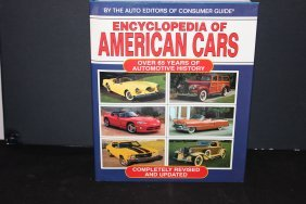 Encyclopedia Of American Cars - 65 Years Of History W/