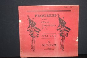 Local Interest City Of Progress 1912- 1913 Booklet
