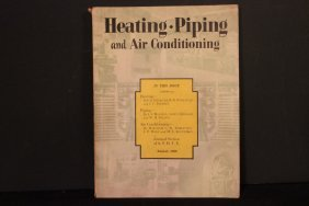 Super Magazine Book August 1929 Heating Piping And