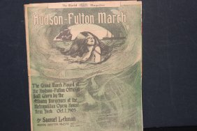 Hudson Fulton March 1909 Given By The Albany Burgesses