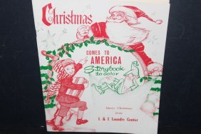 Great Advertising Christmas Story And Color Book - Like
