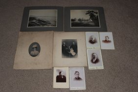 Nice Selection Of 9 Turn-of-the-century Photos In Very