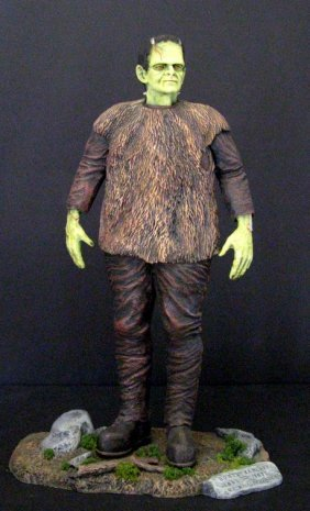 Son Of Frankenstein - Rare Painted Resin Model Figure -