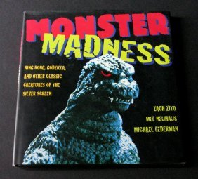 Monster Madness Deluxe Hardcover Film Book - Smithmark