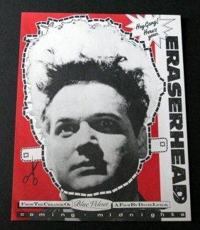 David Lynch's Eraserhead - Paper Promo Mask - 1986 -
