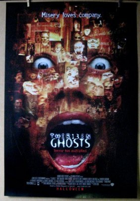 "13 Ghosts - 2001 - One Sheet Movie Poster - 27""x 40"" -"
