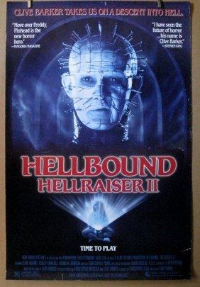 Clive Barker's Hellraiser 2 - 1988 - One Sheet Movie