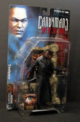 "Candyman 7"" Action Figure - Mcfarlane Movie Maniacs,"