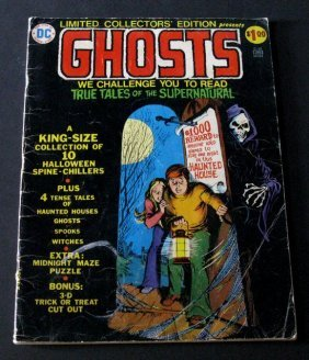 Ghosts - Jumbo 82 Page Comic Book - Dc Comics, 1974 -