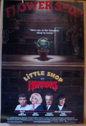 Little Shop Of Horrors - 1986 - One Sheet Movie Poster