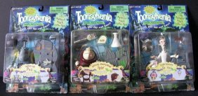 Toonsylvania - Three Action Figures: Spinal Tap Phil,