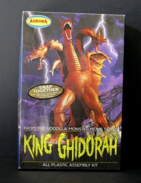 King Ghidora - Re-issue Of The Classic Aurora Model Kit