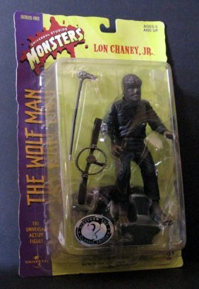 "The Wolf Man 8"" - Action Figure - Sideshow Toy, 1999 -"