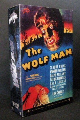 """The Wolf Man - Deluxe 12"""" Figure - Sideshow Toy, 2001 -"""