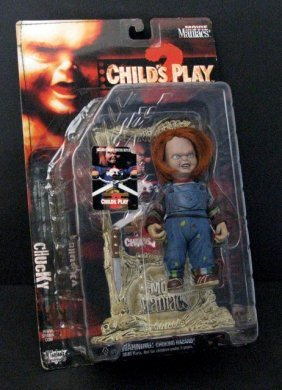 "Chuckie - Child's Play 7"" Action Figure - Mcfarlane"