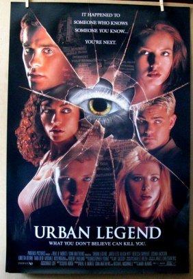 Urban Legend And Urban Legend Final Cut- Original 1998