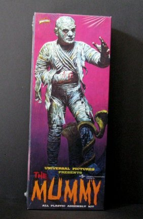 The Mummy Re-issue Of The Classic 60's Aurora Model Kit