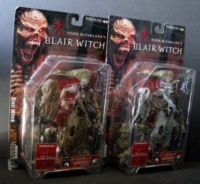 "Blair Witch 7"" Action Figures - Lot Of Two - Mcfarlane"