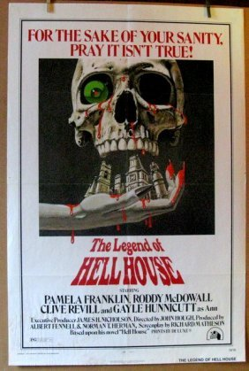 The Legend Of Hell House- 1973 One Sheet Movie Poster -