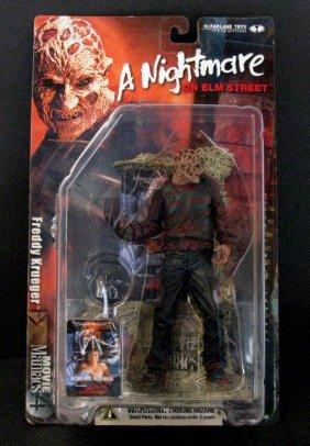 "Freddy Krueger - 7"" Action Figure - Mcfarlane Movie"