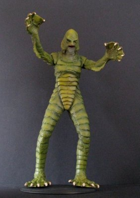 Creature From The Black Lagoon Pro Painted Vinyl Model