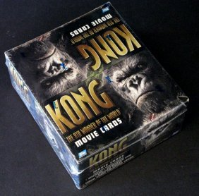 Peter Jackson's King Kong - Display Box Of Deluxe Movie