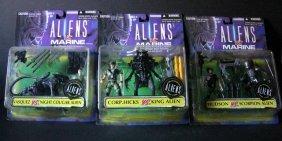 "Aliens Vs Marines - 6"" Action Figures - Complete Set Of"