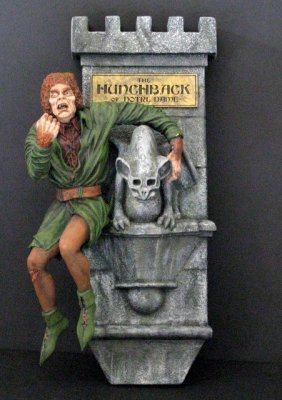 Lon Chaney Hunchback Of Notre Dame - Pro Painted Wall