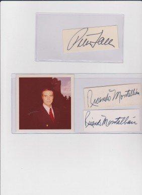 Peter Faulk 1927-2011, Autograph Sigature, American