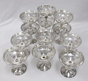 12 Caldwell & Co. Philadelphia Silver Plated