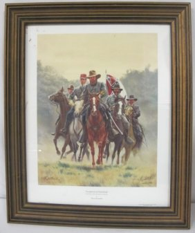 Longstreet At Gettysburg By Mort Kunstler, Limited