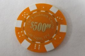Landmark Casino $500 Poker Chip