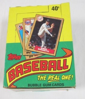1987 Topps Baseball Card Set