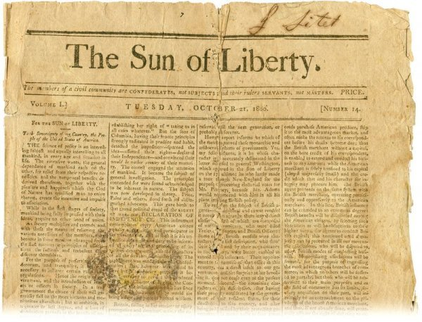 1800s newspaper writers the remainder the