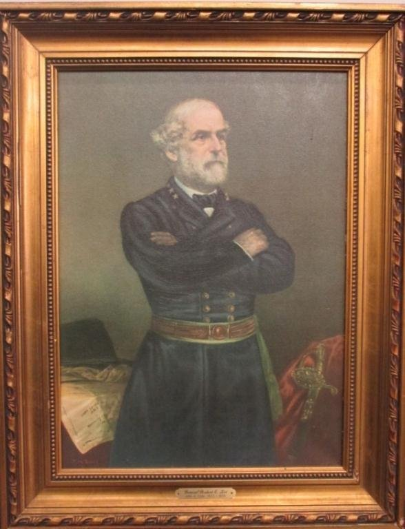 After john elder robert e lee painting lot 168 for Lee s painting