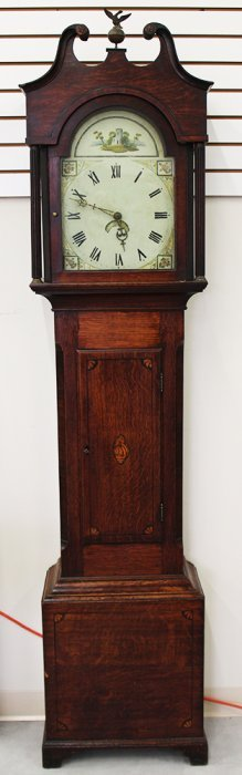 19th Century Grandmother Clock
