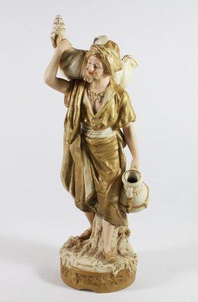 20th Century Royal Dux Porcelain Figurine