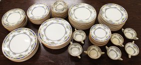 80 Pc Mintons Princess China Set