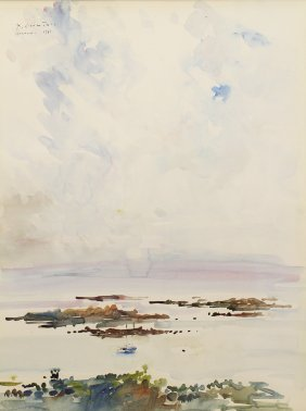 Xavier Commere Watercolor