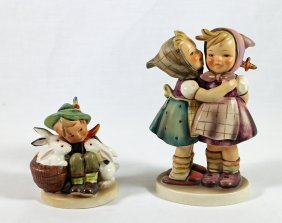 (2) Hummel Figurines