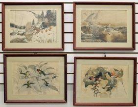 (4) Rex Brasher Prints