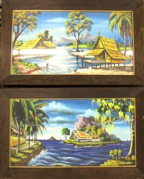 (2) Thailand Paintings