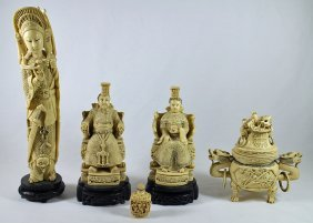 Chinese Faux Ivory Collection