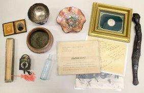 Bronze Vessel, Daguerreotype, & Collectibles