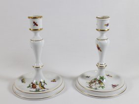 Herend Candlesticks