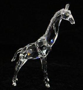 Swarovski Crystal Giraffe