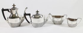 Gorham Sterling Four Piece Tea Service